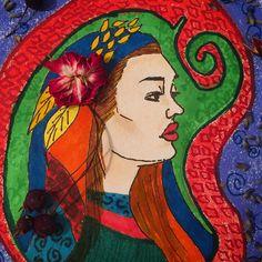 #inspiration #floral #sketch #doodle #painting #drawing #flower #illustration #imagination #persiangirl #inspired #art #artwork #woman @art.fashion.inspiration