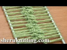 Crochet Hairpin Lace Braid Tutorial 12 Crochet Basic Hairpin Strip - YouTube