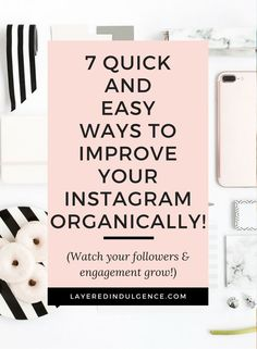 Struggling you grow your Instagram? Here are 7 quick and easy tips to improve your Instagram feed, gain followers and boost engagement. Instagram is one of the most effective social media platforms for bloggers, and if you do it right, it can open a world of opportunities. From Instagram stories to your Instagram theme, read this post to get all the best Instagram tips and then save it for others to read too!