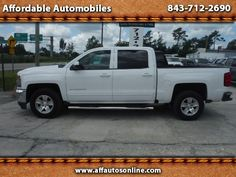 Used 2016 Chevrolet Silverado 1500 LT Crew Cab 2WD for Sale in Myrtle Beach SC…
