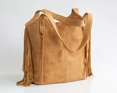 Brown Leather Tote Bag  OverSize leather Bag  Large by maykobags