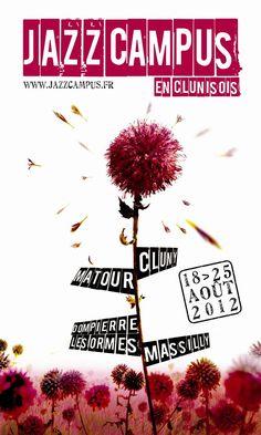 JAZZ CAMPUS EN CLUNISOIS à Cluny (71) du 18 au 25 août