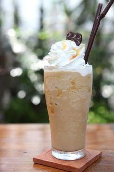 Recept Frappuccino. Lekker verkoelend en overheerlijk.