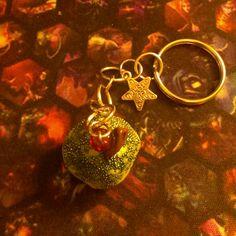 Cupcake Keychain. Le porte clés petit gâteau. Créé par Val alias sorina888