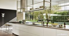 """Lunch at Marco - """"from Sambonet to Kitchen"""" Counter Design, Kitchen Modern, Hanger, Lunch, Table, Inspiration, Furniture, Home Decor, Kitchens"""