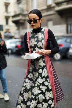 #Share #This #Style: #Italian #Street #Style | #StreetStyle #milan #italiano #vestido #HarpersBazaar #StreetStyleMfw