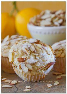 Lemon Ricotta Muffins with Almonds