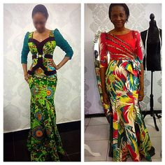 Tastefully Unique Ankara Styles: Feel The Beauty Of Different Styles And Designs Of The Ankara Fabric - Wedding Digest Naija African Dresses For Women, African Attire, African Wear, African Fashion Dresses, African Women, African Clothes, African Inspired Fashion, African Print Fashion, African Prints