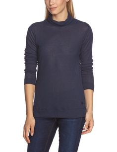 G-Star - Camiseta de manga larga para mujer en color azul oscuro #camiseta #starwars #marvel #gift