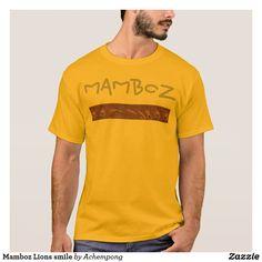 Sonrisa de los leones de Mamboz  #Camisetas #Hakuna #Matata #tee shirt
