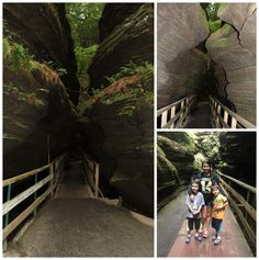 Exploring the Witches Gulch in Wisconsin Dells  #wiscdells #wisconsin #familytravel