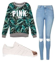 Designer Clothes, Shoes & Bags for Women Topshop, Victoria Secret, Adidas, Shoe Bag, Green, Polyvore, Pink, Stuff To Buy, Shopping