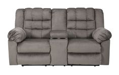 Lowest price on Signature Design by Ashley Mort Charcoal Double Reclining Loveseat with Console 2610594. Shop today!