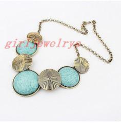 La collana di cristallo collana di istruzione di girljewelrys, $9.99