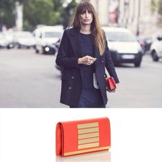 Malababa clutch en Brussosa All Things Fabulous, Just She, Parisian Chic, Party Bags, Her Style, Her Hair, Normcore, Blazer, Model