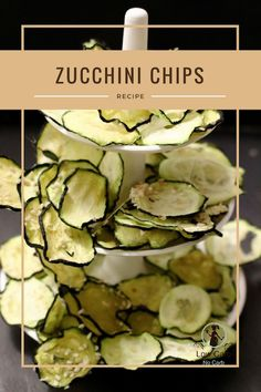Crunchy and healthy Keto Zucchini Chips made easy in a dehydrator with proven perfect tasty results at all times. Wonderfully flavored and filled with crispiness for your next easy low carb snack. Low Carb Appetizers, Appetizer Recipes, Keto Recipes, Healthy Recipes, Healthy Food, Appetizer Ideas, Snacks Recipes, Keto Foods, Veggie Recipes