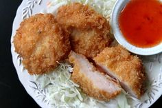 Thai Shrimp Cakes with Sweet Chili Sauce