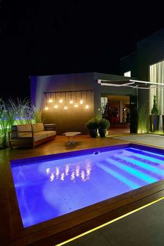 Pool Lighting & 364 best Pool Lighting images on Pinterest | Houses with pools Lap ...