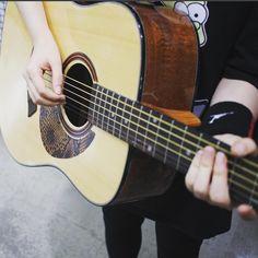 Guitar Accessories Acoustic Guitar Pickguard Basic Leather A