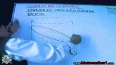 ÁREA Y VOLUMEN DE UN CILINDRO , TRONCO DE CILINDRO PROBLEMAS RESUELTOS
