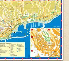 Mappa Comune di San Remo - Manita Creative