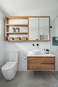 Bathroom Mirror Storage, Small Bathroom Cabinets, Small Bathroom Mirrors, Small Bathroom Interior, Mirror Cabinets, Laundry In Bathroom, Modern Bathroom Design, Small Bathroom Renovations, Small Space Bathroom