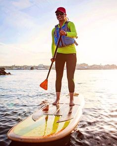 Photo by employee Not a bad way to start a Saturday! Featured product: Stolquist PFD, EMS Thunderhead hat, EMS rental SUP and rental paddle. Boarders, Paddle, Gopro, Ems, Instagram Posts, Sports, Hs Sports, Sport