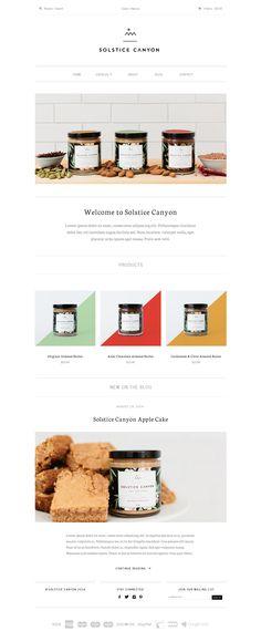 Solstice Canyon | Web design