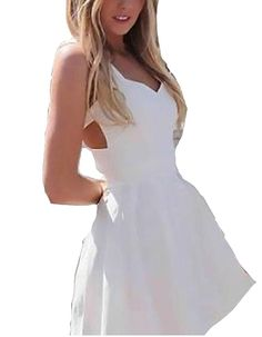 Fashionback Women's Without Hood Crew Neck Ball Gown Formal Dress ** See this awesome image  : wedding dresses