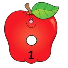 Fun number flashcards for preschool - Number Flashcards, Flashcards For Kids, Math Numbers, Preschool Apple Theme, Preschool Math, Animated Numbers, Oral Motor Activities, Do A Dot, Math For Kids