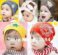 Online Shop gorro baby beanie baby boy hats girl caps,36 color elasticity Skullies,newborn new born photography props for 0-2 years old kids|Aliexpress Mobile
