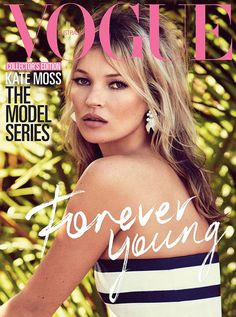 Kate Moss Is 'Forever Young' On The Cover Of Vogue Australia
