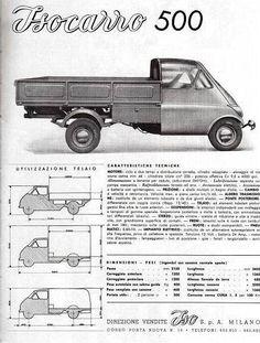 The Amazo Effect: Iso Isocarro 500 - A Tough Little Egg Small Trucks, Mini Trucks, Small Cars, White Van Man, Vespa Ape, Bmw Isetta, Microcar, Teardrop Trailer, Land Cruiser