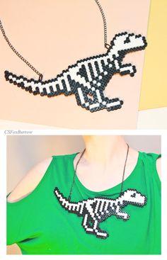 Dinosaur Skeleton Dino Bones Halloween Dinosaur por CSFoxBurrow