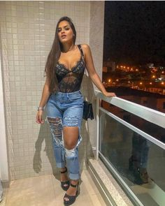 Fashion Show Party Jeans Ideas Night Outfits, Summer Outfits, Girl Outfits, Fashion Outfits, Look Fashion, Girl Fashion, Feminine Fashion, Fashion Fall, Fashion Show Party