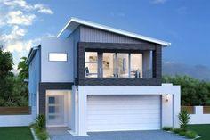 Buderim 290 - Metro, Home Designs in Newcastle Garage Design, Exterior Design, Garage Guest House, Apartment Plans, Garage Loft Apartment, Facade House, Small House Plans, Custom Home Builders, Newcastle