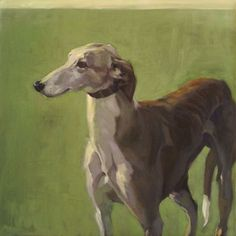Galgo painting