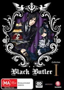 - Black Butler (Kuroshitsuji) Collection 1 (Eps 1-12)