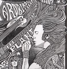 Led Zeppelin Robert Plant Jimmy Page John Bonham by Posterography, $24.95