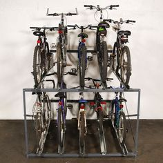WireCrafters Bike Stacker Multiple Bicycle Storage Rack