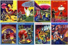 Ilustraciones de Frank R. Paul recolectadas por Joe Wolf
