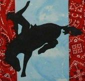 Cowboy Up TG25 - Western Style Quilted Wall Hanging Pattern
