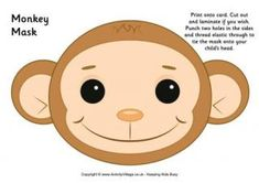 1000 images about chinese new year crafts for children on for Sock monkey face template