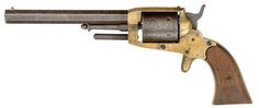 The Cofer Cartridge Revolver,  T.W. Cofer was a small time revolver maker based out of Portsmouth, Virginia during the American Civil War. Cofer revolvers were simple single action .36 caliber percussion muzzleoading revolvers typical of Confederate manufacture. When I say typical I mean that they were very crude compared to Union counterparts, featured as brass frame as the Confederacy was chronically short of iron, and did little in the way of production