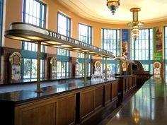The water bar in the Hall of Waters - Art deco - Wikipedia