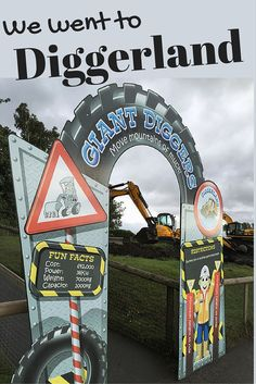 We went to Diggerland - where you get to operate real JCB diggers! Fun for all the family.