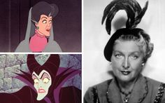Eleanor Audley was a well-known face on classic American television and would regularly appear on shows such as Green Acres, I Love Lucy and The Dick Van Dyke Show. She provided the voices for two of Disney's nastiest female characters, Lady Tremaine in Cinderella and Maleficent in Sleeping Beauty, and served as a physical model for both characters.