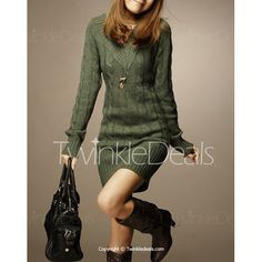 Long Sleeve V Neck Olive Green Sweater Long Sleeve Sweater Dress, Knit Dress, Sweater Dresses, Hollister, Olive Green Sweater, Skinny, Dress Suits, Pullover Sweaters, Women's Sweaters