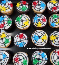 Christy's Savories: Paintball Cupcakes