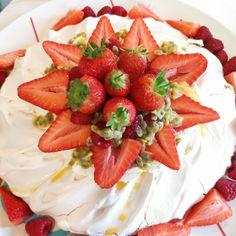 Alternative birthday cake! #thesugarrosekitchen #meringue #pavlova #summerberries Meringue Pavlova, Best Buttercream, Sugar Rose, Easy Baking Recipes, Cake Makers, Drip Cakes, Occasion Cakes, Party Cakes